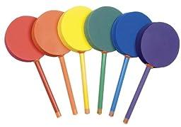 Champion Sports 12-Inch Badminton Foam Paddle Set