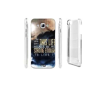FUNDA CARCASA LIFE STRONG LIVE PARA SAMSUNG GALAXY A8 SM-A800I
