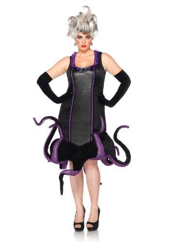 Leg Avenue Disney Plus-Size Ursula Velvet Dress