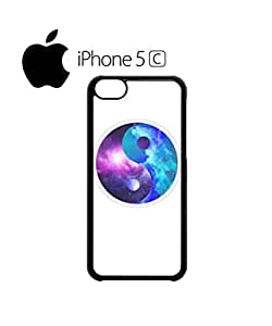 Ying Yang Galaxy Tumblr Mobile Cell Phone Case Cover iPhone 5c White
