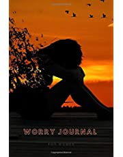 Worry Journal For Women: Notebook with worksheets to improve mood and relieve anxiety stress.