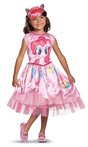 Pinkie Pie Movie Classic Costume, Pink, X-Small (3T-4T)