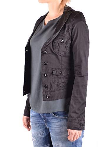 Noir Jeans Coton Mcbi33076 Femme Veste Liu dTtqT
