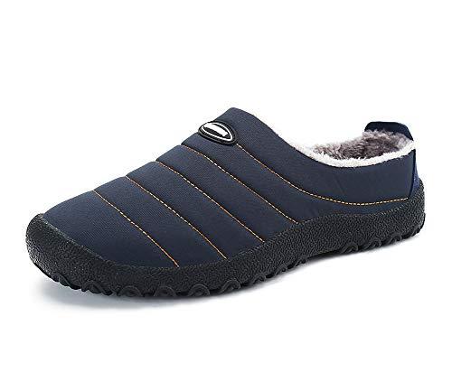Aitaobao Herren Warme Winter Hausschuhe Damen Winterschuhe rutschfeste Slippers Outdoor Freizeit Schuhe