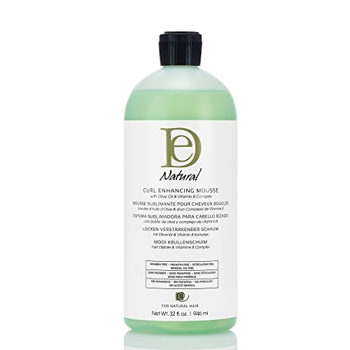 Design Essentials Almond & Avocado Curl Enhancing Mousse, Perfectly Defined Luminous Waves, Curls & Coils - 32 oz