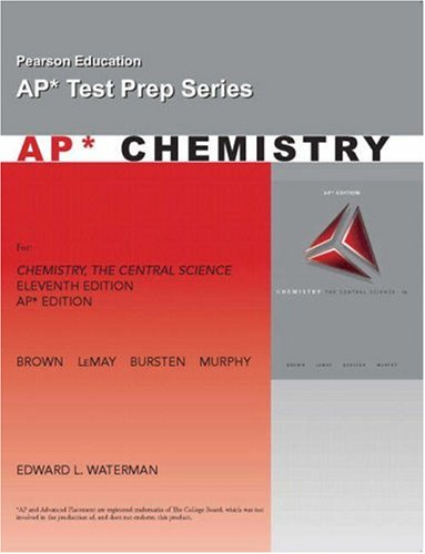 AP Exam Workbook for Chemistry: The Central Science (Ap Test Prep Series)