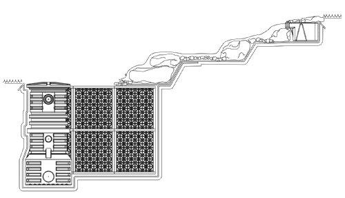 Atlantic Water Gardens Water Matrix Block, 31.5 gallon Eco-Blox by Atlantic Water Gardens (Image #3)