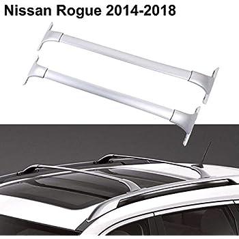 Amazon.com: Mophorn - Barras de portaequipaje para Nissan ...