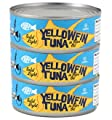 Trader Joe's Solid Light Yellowfin Tuna Fish in Olive Oil - Pack of 3