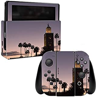 MightySkins Skin Compatible with Nintendo Switch - Marrakech | Protective, Durable, and Unique Vinyl Decal wrap Cover | Easy to Apply, Remove, and Change Styles | Made in The USA