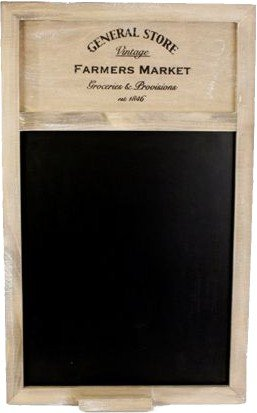 General Store Blackboard ~ 50cm x 34cm Shabby Chic Style Memo Board Carousel Home