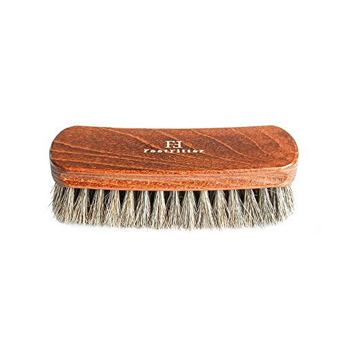 FootFitter Shoe Shine Brush Diplomat Exclusive, Grey Brown