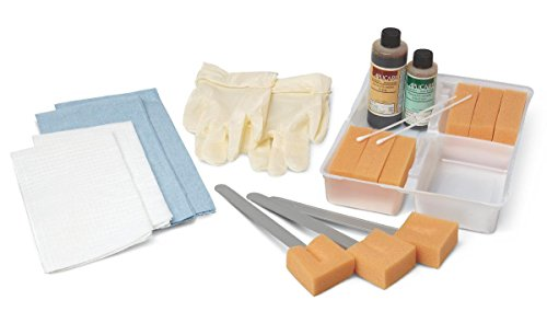 Medline Industries DYND70372 Wet Skin Scrub Trays (Pack of 20)
