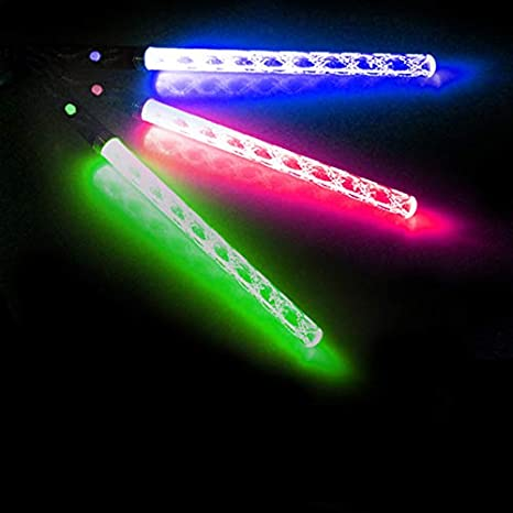 20066edb3047 Amazon.com  Belegend LED Magic Wand Color Changing Flash Torch Party  Concert Glow Light Stick  Health   Personal Care