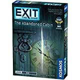 Exit: The Abandoned Cabin | Exit: The Game - A Kosmos Game | Kennerspiel Des Jahres Winner | Family-Friendly, Card-Based…