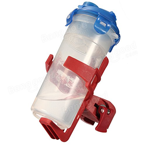 Bike Water Bottle Holder Clip Rack Bicycle Pitcher Cage Adjustable ( Red ) by Freelance Shop SportingGoods (Image #4)