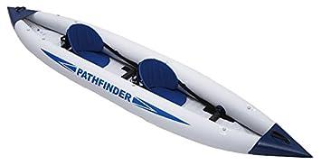 JILONG Sport Pathfinder, Kayak Canoa Hinchable Doble Unisex-Adulto