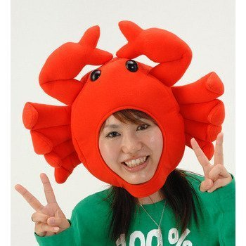 Moe Halloween Costume (Japanese Anime Crab Cap Costumes Cosplay Party Goods (Japan Import))