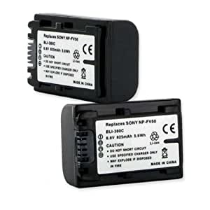 Sony NP-FV30 50 7.2V 825mAh replacement Battery