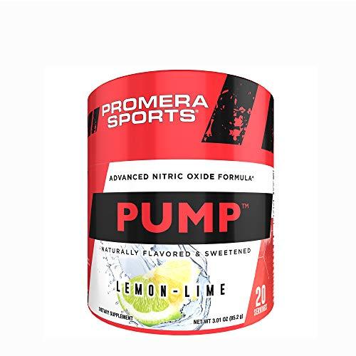 Promera Sports Pump Advanced Nitric Oxide Formula* – Lemon-Lime