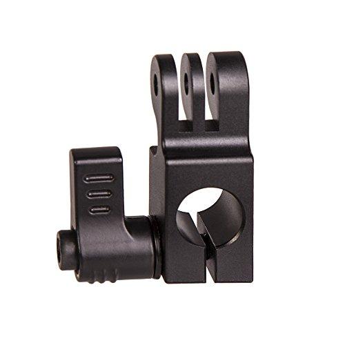 Ikan ELE-GP15A Go Pro 15 mm Rail Mount A (Black) by Ikan