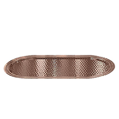 nu steel HSC10H Hudson Amenity Tray, Copper by nu steel
