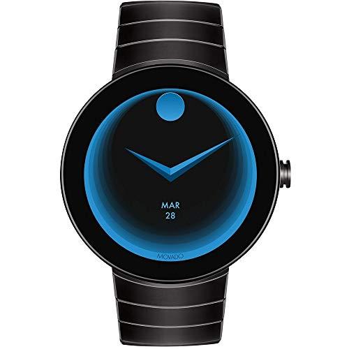 - Movado Connect Digital Smart Module Stainless Steel Smartwatch 3660015 (Black/Black) (Renewed)