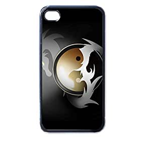 dragon art v2 iphone case for iphone 4 and 4s black