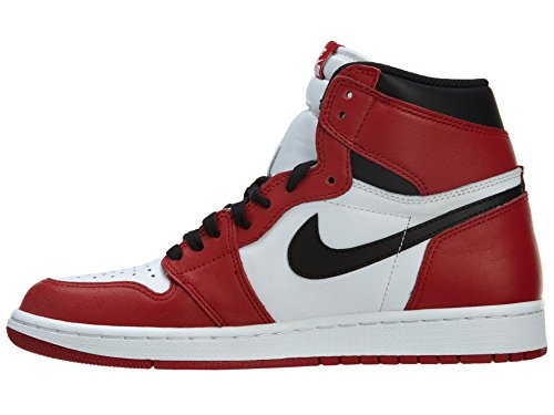 1 Blanc Noir Retro de Blanc Black S Air Nike White Rouge Homme Chaussures Jordan varsity Sport OG Red High 7gwqRqOExn