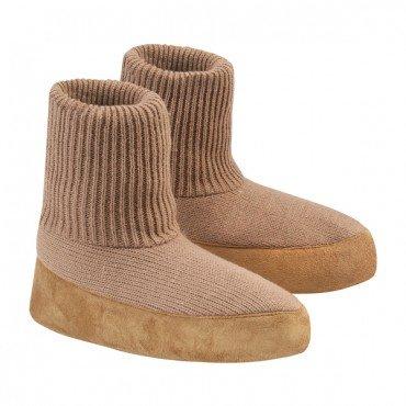 by Comfortable JUMBL Cardigan Warm Slipper Sock Beige q074afw4