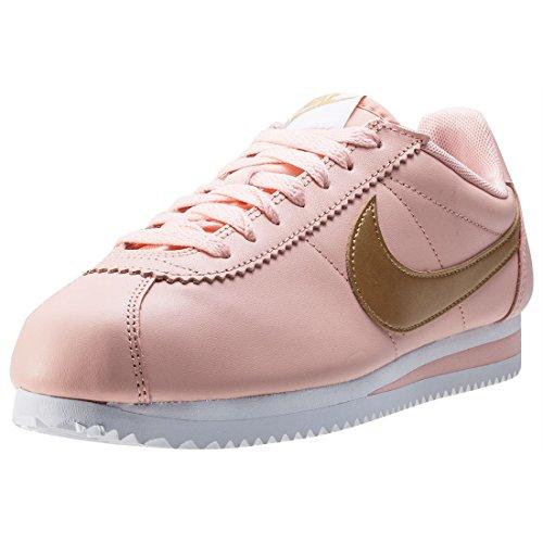 new style 81e1b c36e7 NIKE Womens Classic Cortez Leather (6.5, Pink Peach)