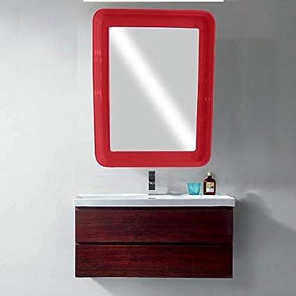 big sale 9c0d7 298d1 Buy Majik Square Frame Wall Hanging Vanity Mirror Glass for ...