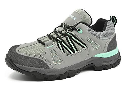 De Femmes Gris Knixmax tanches Pour Sentier Course Randonne Basses vert Bottes Trekking Sur Chaussures USqqwrWX5B