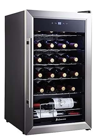 Amazon.com: Kalamera KRC-24SS 24 Bottle Single Zone Wine
