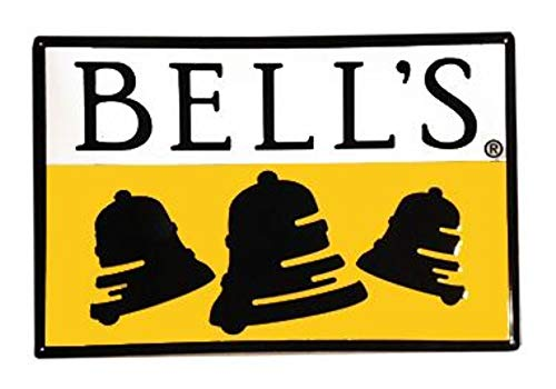 Bells Brewing Beer Tin Tacker Metal Bar Sign