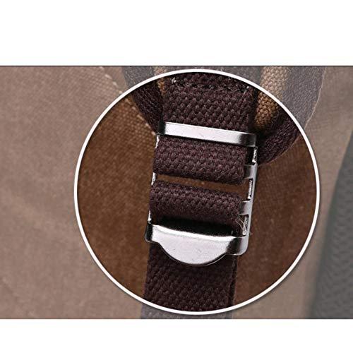 Para Estudiante Bolsa Mochila Deportes Viajes DHFUD Hombres Libre Aire Al Casual Khaki Bolsa EnAxHqFSF