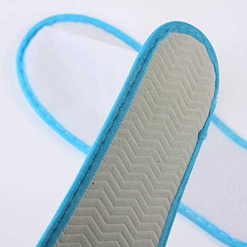 Portátiles Packs Zapatillas Viajes Antideslizantes Hotel Zapatos 100 Packs Negocio De Hogar Lss Desechables Ligeras color Baño Del qa4CAIw