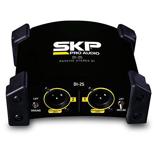 SKP PRO AUDIO DI-2S Passive Stereo Direct Box by SKP Pro Audio