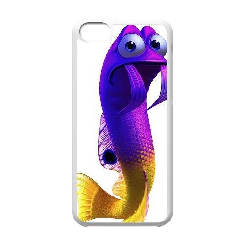 Finding Dory 004 coque iPhone 5C Housse Blanc téléphone portable couverture de cas coque EOKXLLNCD10276