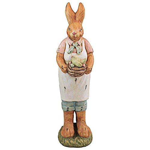 Design Toscano Statue Edwina Easter Bunny Holiday Decoration