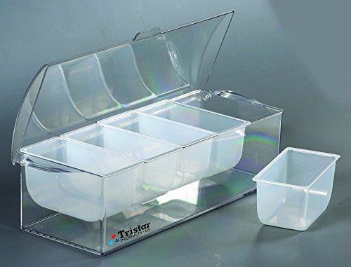 Tristar Chilled Condiment - Compartment Holder Condiment