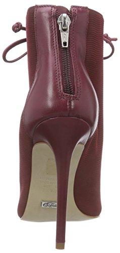 Buffalo London Zs 4887-15 Semi Cromo No Poin - Botas Mujer Rojo