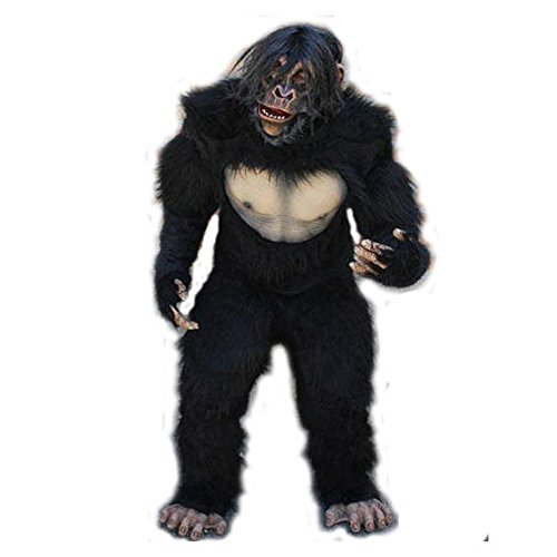 Zagone Complete Chimp Costume Mask, Shirt, Gloves, Legs, And -