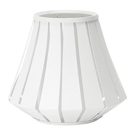 Ikea lakheden lámpara pantalla en color blanco; (28 cm ...