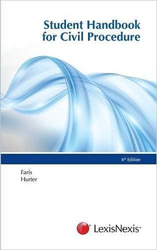 Book Student Handbook for Civil Procedure