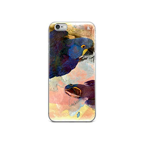 iPhone 6/6s Case Anti-Scratch Creature Animal Transparent Cases Cover Its All in How You Look at It Animals Fauna Crystal Clear -