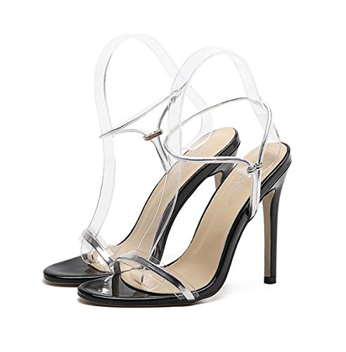 87fdd0395032 XX GXM 2017 New Summer Gifts Women Word Band high high high heel sandals