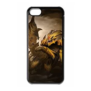 iphone5c Black phone case Sand King Dota 2 DOT9971067