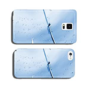 Fishing hook in water close-up with air bubbles around cell phone cover case iPhone5