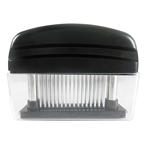 Meat Tenderizer with 48 Stainless Steel Blades, - Meat Shop